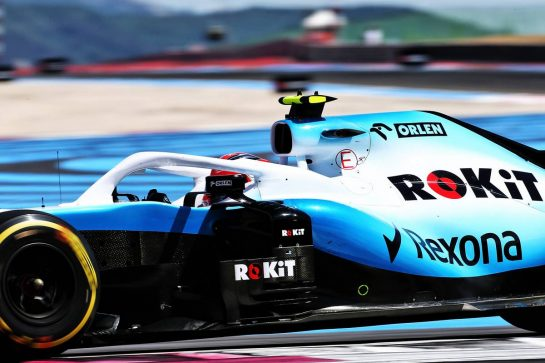 Robert Kubica (POL) Williams Racing FW42. 23.06.2019. Formula 1 World Championship, Rd 8, French Grand Prix, Paul Ricard, France, Race Day. - www.xpbimages.com, EMail: requests@xpbimages.com - copy of publication required for printed pictures. Every used picture is fee-liable. © Copyright: Charniaux / XPB Images
