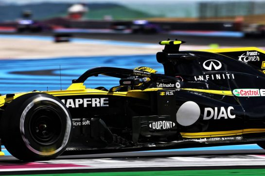 Nico Hulkenberg (GER) Renault F1 Team RS19. 23.06.2019. Formula 1 World Championship, Rd 8, French Grand Prix, Paul Ricard, France, Race Day. - www.xpbimages.com, EMail: requests@xpbimages.com - copy of publication required for printed pictures. Every used picture is fee-liable. © Copyright: Charniaux / XPB Images