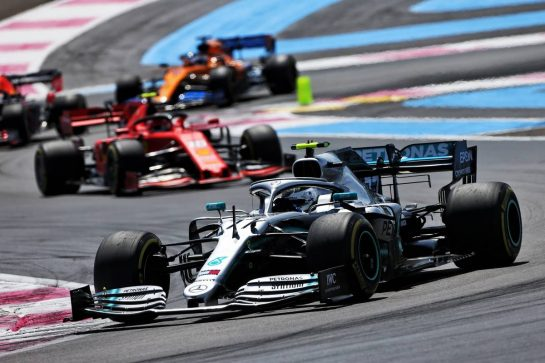 Valtteri Bottas (FIN) Mercedes AMG F1 W10. 23.06.2019. Formula 1 World Championship, Rd 8, French Grand Prix, Paul Ricard, France, Race Day. - www.xpbimages.com, EMail: requests@xpbimages.com - copy of publication required for printed pictures. Every used picture is fee-liable. © Copyright: Moy / XPB Images