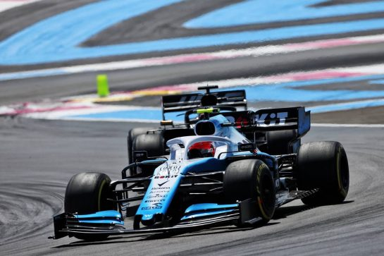 Robert Kubica (POL) Williams Racing FW42. 23.06.2019. Formula 1 World Championship, Rd 8, French Grand Prix, Paul Ricard, France, Race Day. - www.xpbimages.com, EMail: requests@xpbimages.com - copy of publication required for printed pictures. Every used picture is fee-liable. © Copyright: Moy / XPB Images