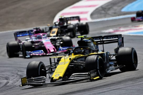 Nico Hulkenberg (GER) Renault F1 Team RS19. 23.06.2019. Formula 1 World Championship, Rd 8, French Grand Prix, Paul Ricard, France, Race Day. - www.xpbimages.com, EMail: requests@xpbimages.com - copy of publication required for printed pictures. Every used picture is fee-liable. © Copyright: Moy / XPB Images