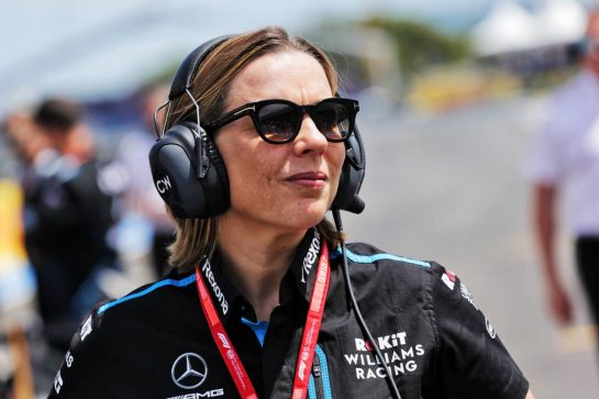 Claire Williams (GBR) Williams Racing Deputy Team Principal on the grid. 23.06.2019. Formula 1 World Championship, Rd 8, French Grand Prix, Paul Ricard, France, Race Day.  - www.xpbimages.com, EMail: requests@xpbimages.com - copy of publication required for printed pictures. Every used picture is fee-liable. © Copyright: Bearne / XPB Images