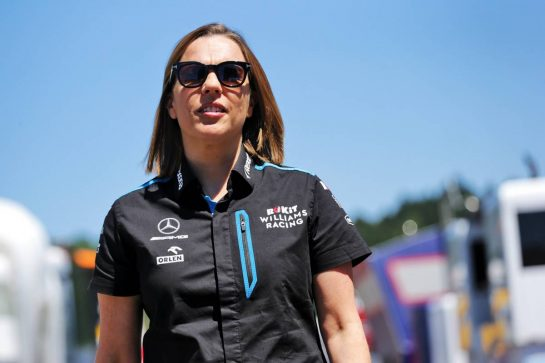 Claire Williams (GBR) Williams Racing Deputy Team Principal. 28.06.2019. Formula 1 World Championship, Rd 9, Austrian Grand Prix, Spielberg, Austria, Practice Day.  - www.xpbimages.com, EMail: requests@xpbimages.com - copy of publication required for printed pictures. Every used picture is fee-liable. © Copyright: Bearne / XPB Images