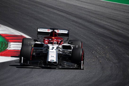 Kimi Raikkonen (FIN) Alfa Romeo Racing C38. 28.06.2019. Formula 1 World Championship, Rd 9, Austrian Grand Prix, Spielberg, Austria, Practice Day. - www.xpbimages.com, EMail: requests@xpbimages.com - copy of publication required for printed pictures. Every used picture is fee-liable. © Copyright: Photo4 / XPB Images