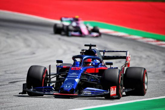 Daniil Kvyat (RUS) Scuderia Toro Rosso STR14. 28.06.2019. Formula 1 World Championship, Rd 9, Austrian Grand Prix, Spielberg, Austria, Practice Day. - www.xpbimages.com, EMail: requests@xpbimages.com - copy of publication required for printed pictures. Every used picture is fee-liable. © Copyright: Photo4 / XPB Images