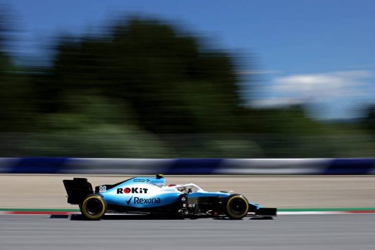 Robert Kubica (POL), Williams F1 Team  28.06.2019. Formula 1 World Championship, Rd 9, Austrian Grand Prix, Spielberg, Austria, Practice Day. - www.xpbimages.com, EMail: requests@xpbimages.com - copy of publication required for printed pictures. Every used picture is fee-liable. © Copyright: Charniaux / XPB Images