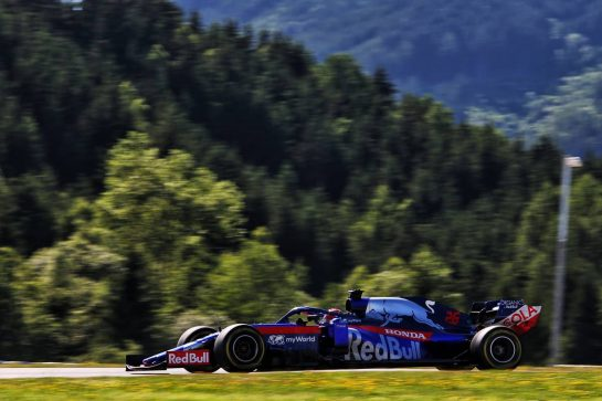 Daniil Kvyat (RUS) Scuderia Toro Rosso STR14. 28.06.2019. Formula 1 World Championship, Rd 9, Austrian Grand Prix, Spielberg, Austria, Practice Day. - www.xpbimages.com, EMail: requests@xpbimages.com - copy of publication required for printed pictures. Every used picture is fee-liable. © Copyright: Moy / XPB Images