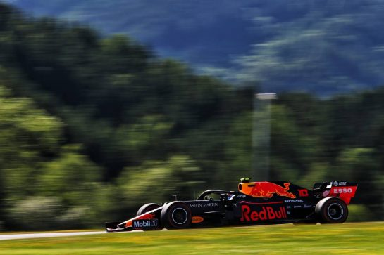 Pierre Gasly (FRA) Red Bull Racing RB15. 28.06.2019. Formula 1 World Championship, Rd 9, Austrian Grand Prix, Spielberg, Austria, Practice Day. - www.xpbimages.com, EMail: requests@xpbimages.com - copy of publication required for printed pictures. Every used picture is fee-liable. © Copyright: Moy / XPB Images