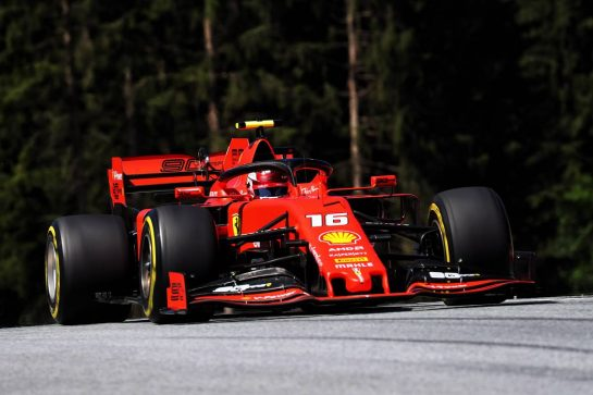 Charles Leclerc (MON) Ferrari SF90. 28.06.2019. Formula 1 World Championship, Rd 9, Austrian Grand Prix, Spielberg, Austria, Practice Day. - www.xpbimages.com, EMail: requests@xpbimages.com - copy of publication required for printed pictures. Every used picture is fee-liable. © Copyright: Photo4 / XPB Images