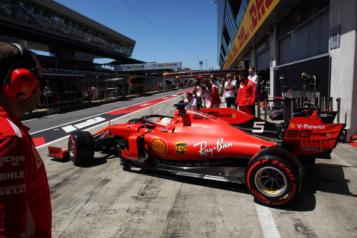 'Broken' Ferrari was no one's fault, says Vettel