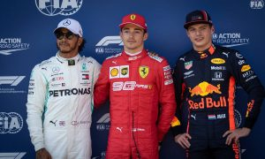Leclerc beats Hamilton to pole as Vettel suffers Q3 failure