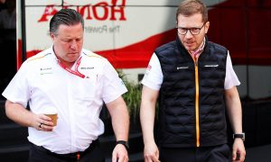 McLaren top brass reshuffle leaves team with 'total clarity' - Brown