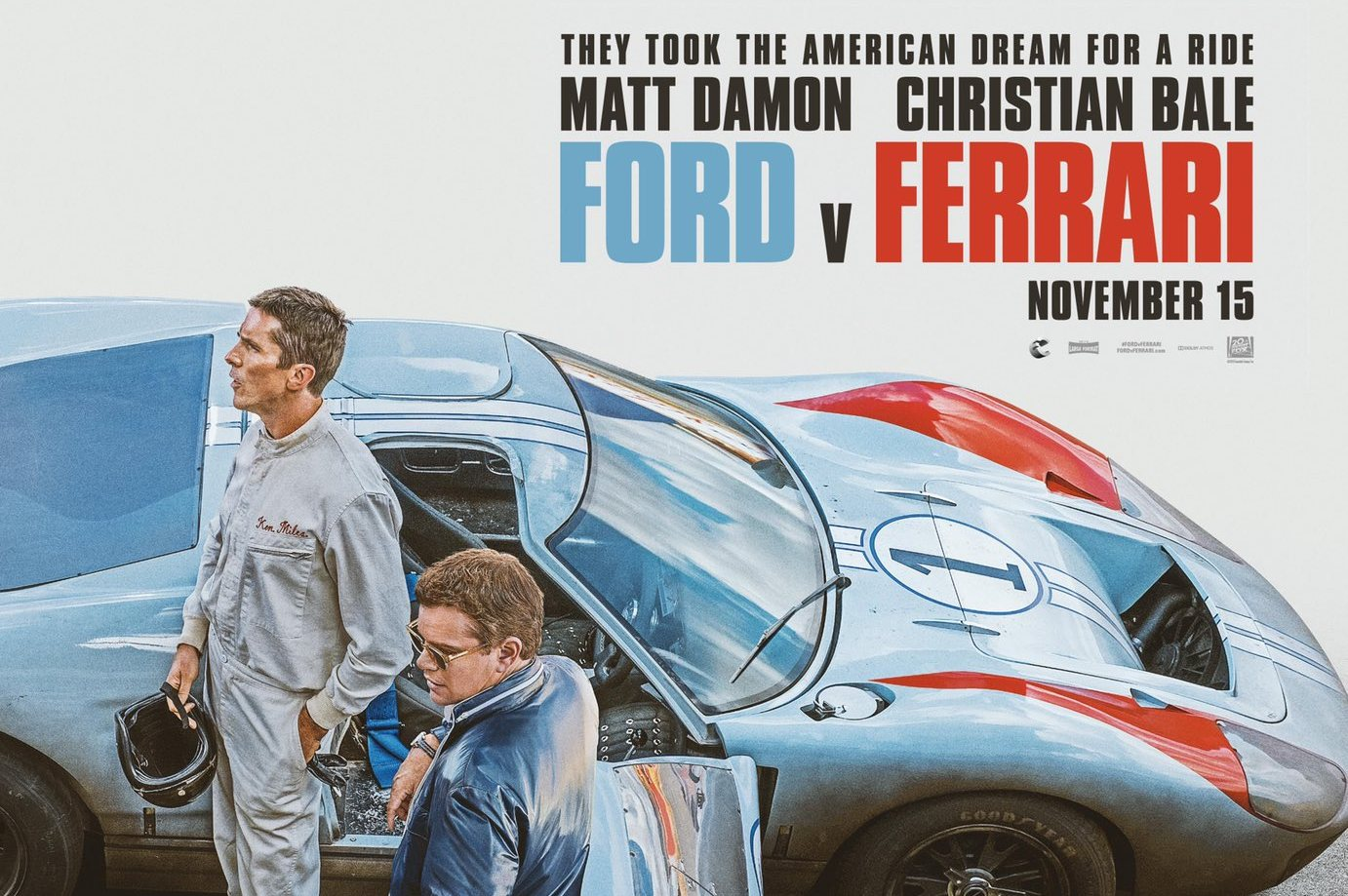F1i Pic Of The Day First Poster For Ford V Ferrari Epic Revealed
