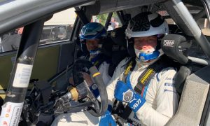 Bottas takes Toyota's Yaris WRC for a spin!