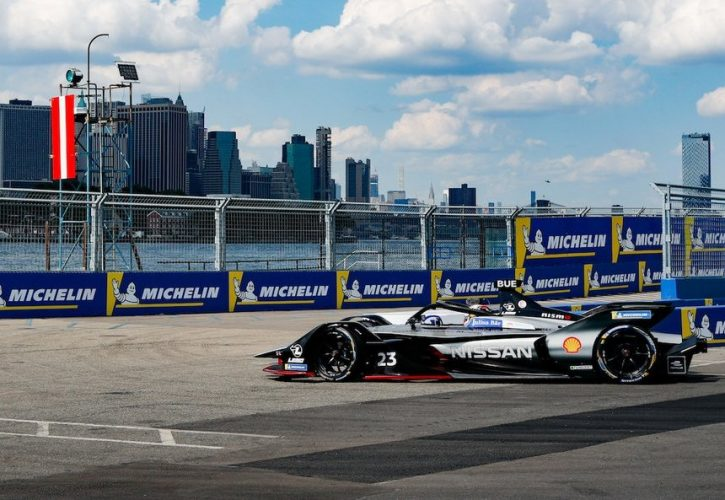 Last lap crash dashes Mitch Evan's Formula E campaign