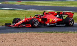 Ferrari duo edges ahead in final practice at Silverstone