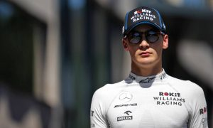 Mercedes protégé Russell won't rely on Bottas 'having bad races'