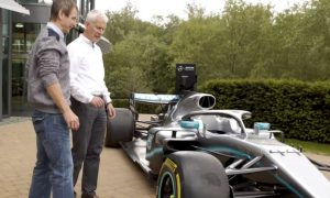 Video: Mercedes treats blind F1 fan to a very special day