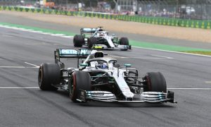 Mercedes heads to home race with special anniversary livery
