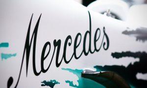 Mercedes teases 'White Arrow' for Hockenheim