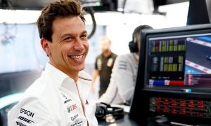 Mercedes' Toto Wolff won't be standing post in Brazil