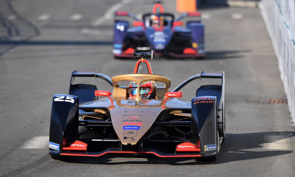 Jean-Eric Vergne has won the 2018/19 Formula E world title