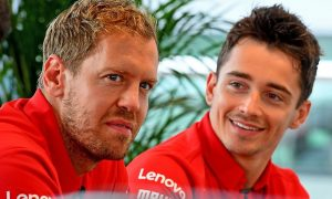 Vettel still Ferrari's priority but Leclerc is ascending