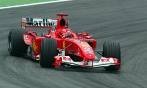 Schumacher ready to saddle father's F2004 prancing horse