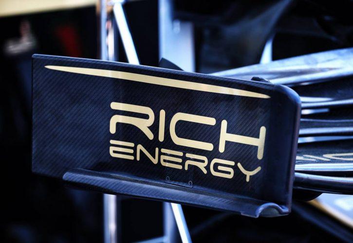 Haas VF-19 - Rich Energy revised logo. 07.06.2019.