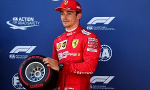 Leclerc joins the FIA's #3500LIVES campaign for road safety