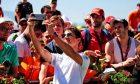 Lando Norris (GBR) McLaren with fans. 30.06.2019