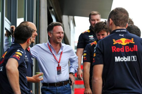 Christian Horner (GBR) Red Bull Racing Team Principal. 11.07.2019. Formula 1 World Championship, Rd 10, British Grand Prix, Silverstone, England, Preparation Day. - www.xpbimages.com, EMail: requests@xpbimages.com - copy of publication required for printed pictures. Every used picture is fee-liable. © Copyright: Batchelor / XPB Images