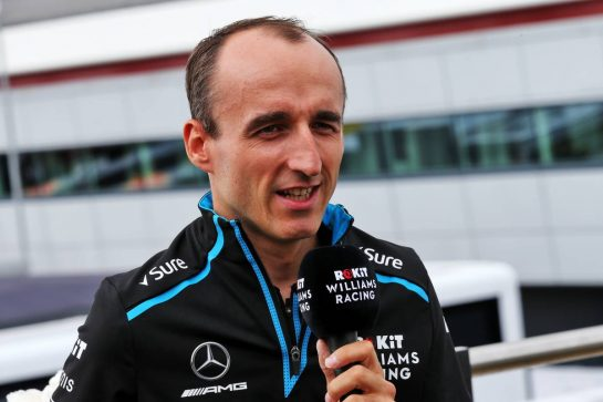 Robert Kubica (POL) Williams Racing. 11.07.2019. Formula 1 World Championship, Rd 10, British Grand Prix, Silverstone, England, Preparation Day. - www.xpbimages.com, EMail: requests@xpbimages.com - copy of publication required for printed pictures. Every used picture is fee-liable. © Copyright: Batchelor / XPB Images