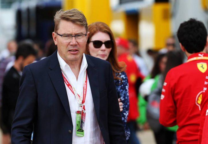 Mika Hakkinen (FIN). 11.07.2019