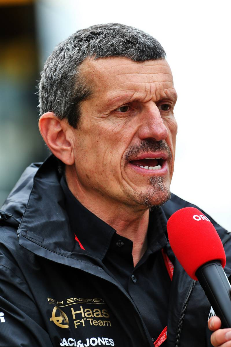 Guenther Steiner (ITA) Haas F1 Team Principal.