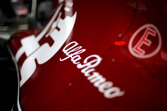 Alfa Romeo Racing 11.07.2019. Formula 1 World Championship, Rd 10, British Grand Prix, Silverstone, England, Preparation Day.- www.xpbimages.com, EMail: requests@xpbimages.com - copy of publication required for printed pictures. Every used picture is fee-liable. © Copyright: Charniaux / XPB Images
