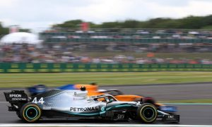 2019 British Grand Prix Free Practice 1 - Results