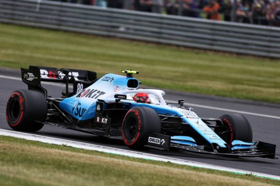 Robert Kubica (POL) Williams Racing FW42. 13.07.2019. Formula 1 World Championship, Rd 10, British Grand Prix, Silverstone, England, Qualifying Day. - www.xpbimages.com, EMail: requests@xpbimages.com - copy of publication required for printed pictures. Every used picture is fee-liable. © Copyright: Moy / XPB Images