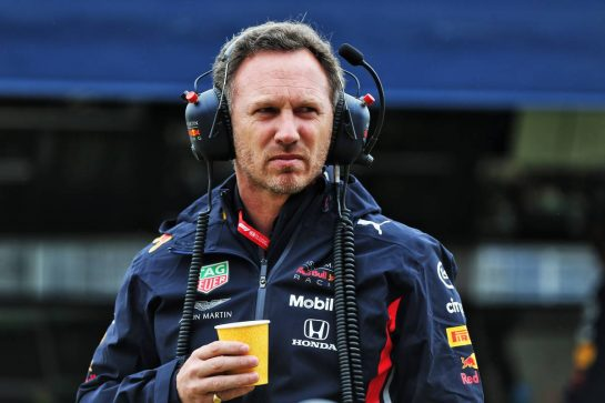 Christian Horner (GBR) Red Bull Racing Team Principal. 13.07.2019. Formula 1 World Championship, Rd 10, British Grand Prix, Silverstone, England, Qualifying Day. - www.xpbimages.com, EMail: requests@xpbimages.com - copy of publication required for printed pictures. Every used picture is fee-liable. © Copyright: Moy / XPB Images