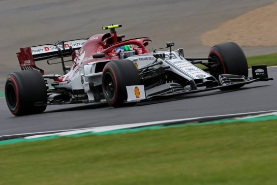 Antonio Giovinazzi (ITA), Alfa Romeo Racing  13.07.2019. Formula 1 World Championship, Rd 10, British Grand Prix, Silverstone, England, Qualifying Day. - www.xpbimages.com, EMail: requests@xpbimages.com - copy of publication required for printed pictures. Every used picture is fee-liable. © Copyright: Charniaux / XPB Images