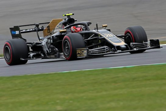 Kevin Magnussen (DEN), Haas F1 Team 13.07.2019. Formula 1 World Championship, Rd 10, British Grand Prix, Silverstone, England, Qualifying Day.- www.xpbimages.com, EMail: requests@xpbimages.com - copy of publication required for printed pictures. Every used picture is fee-liable. © Copyright: Charniaux / XPB Images
