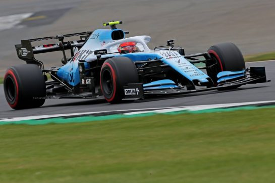 Robert Kubica (POL), Williams F1 Team 13.07.2019. Formula 1 World Championship, Rd 10, British Grand Prix, Silverstone, England, Qualifying Day.- www.xpbimages.com, EMail: requests@xpbimages.com - copy of publication required for printed pictures. Every used picture is fee-liable. © Copyright: Charniaux / XPB Images