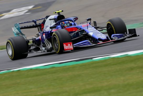 Alexander Albon (THA), Scuderia Toro Rosso 13.07.2019. Formula 1 World Championship, Rd 10, British Grand Prix, Silverstone, England, Qualifying Day.- www.xpbimages.com, EMail: requests@xpbimages.com - copy of publication required for printed pictures. Every used picture is fee-liable. © Copyright: Charniaux / XPB Images