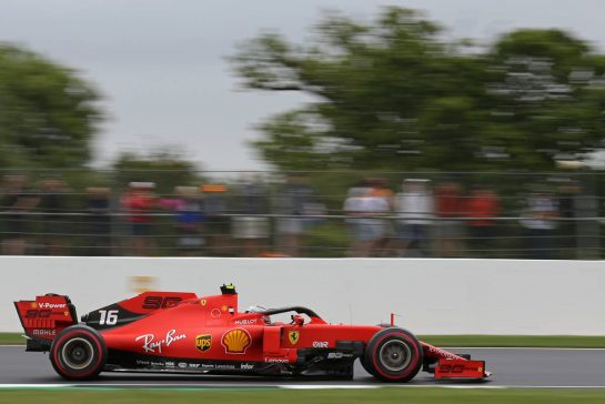 Charles Leclerc (FRA), Scuderia Ferrari 13.07.2019. Formula 1 World Championship, Rd 10, British Grand Prix, Silverstone, England, Qualifying Day.- www.xpbimages.com, EMail: requests@xpbimages.com - copy of publication required for printed pictures. Every used picture is fee-liable. © Copyright: Charniaux / XPB Images