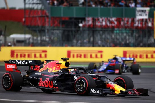Max Verstappen (NLD) Red Bull Racing RB15. 13.07.2019. Formula 1 World Championship, Rd 10, British Grand Prix, Silverstone, England, Qualifying Day. - www.xpbimages.com, EMail: requests@xpbimages.com - copy of publication required for printed pictures. Every used picture is fee-liable. © Copyright: Photo4 / XPB Images