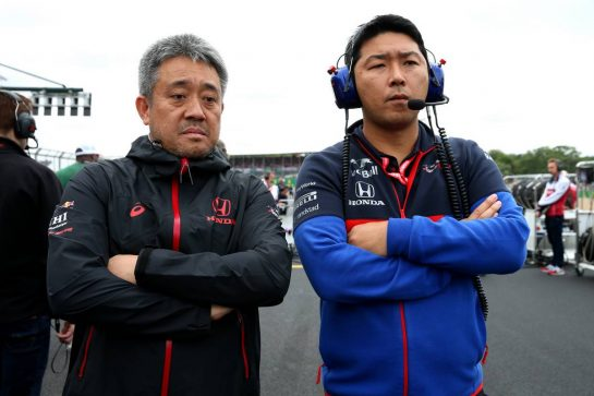 Masashi Yamamoto (JPN) Honda Racing F1 Managing Director. 