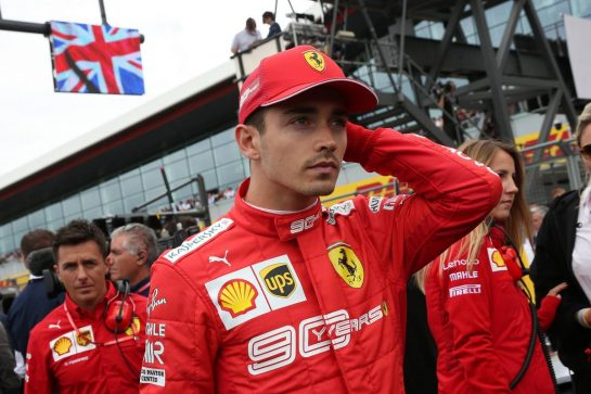 Charles Leclerc (MON) Ferrari SF90.