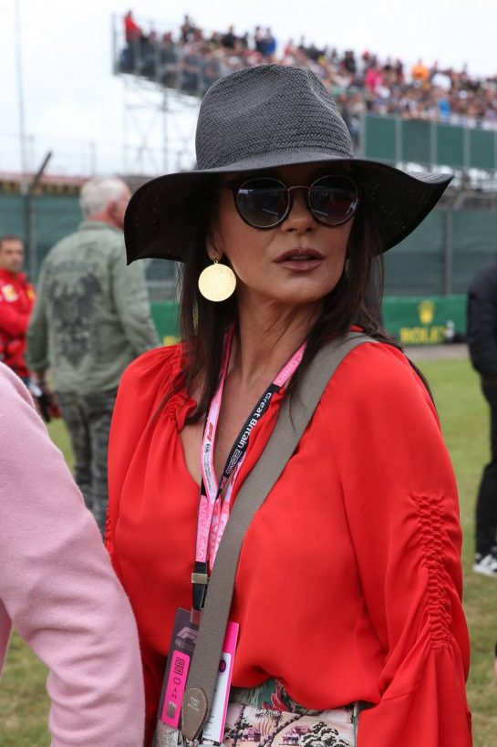 Catherine Zeta-Jones (GBR) Actress on the grid