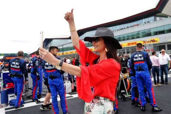 Catherine Zeta-Jones (GBR) Actress on the grid.