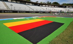 German GP: Thursday's build up in pictures